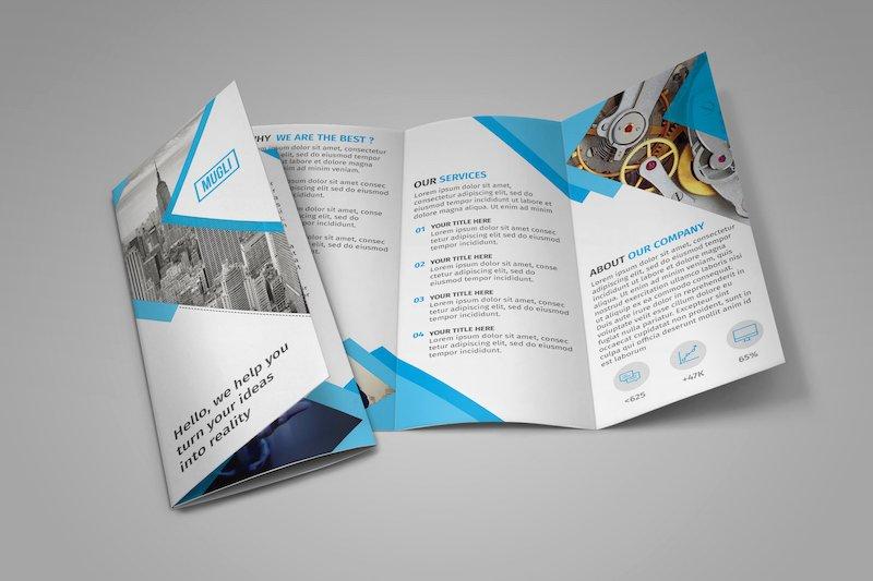 Trifold Brochure Template Illustrator Fresh 25 Tri Fold Brochure Templates Psd Ai & Indd Free