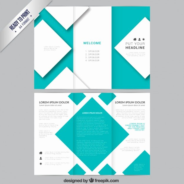 Trifold Brochure Template Photoshop Awesome Brochure Template Shop Csoforumfo