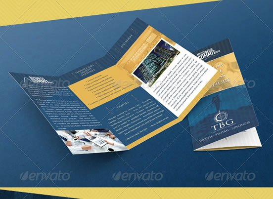 Trifold Brochure Template Photoshop Awesome Tri Fold Brochure Shop Template Csoforumfo