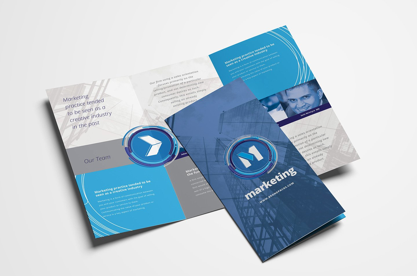 Trifold Brochure Template Photoshop Best Of Free Multipurpose Trifold Brochure Template for Shop