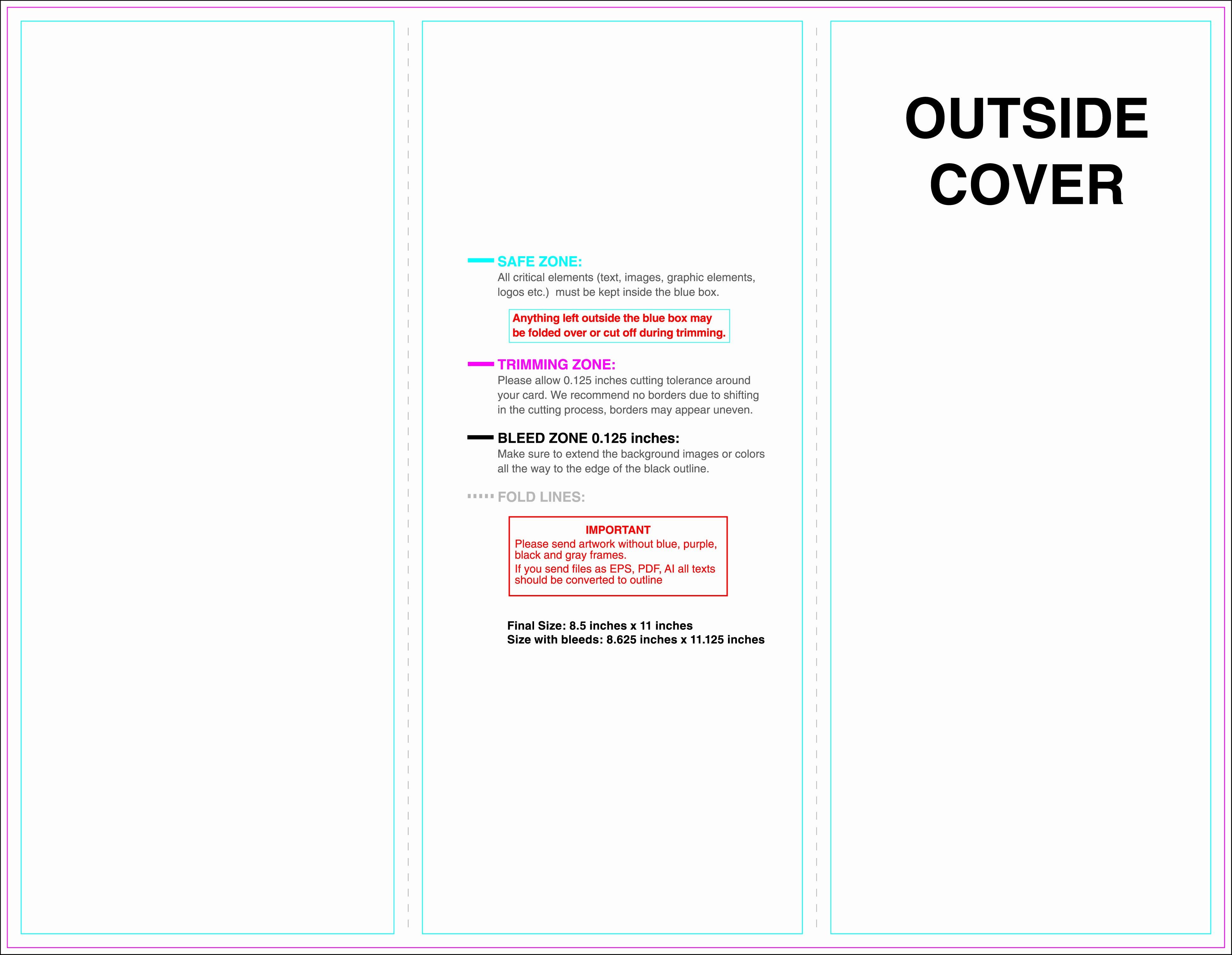 Trifold Brochure Template Photoshop Elegant Business Card Template for Illustrator