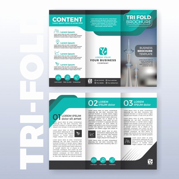 Trifold Brochure Template Photoshop Luxury Brochure Vectors S and Psd Files