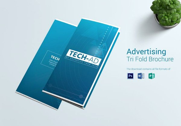 Trifold Brochure Template Photoshop New Advertising Design Template 59 Free Psd format Download