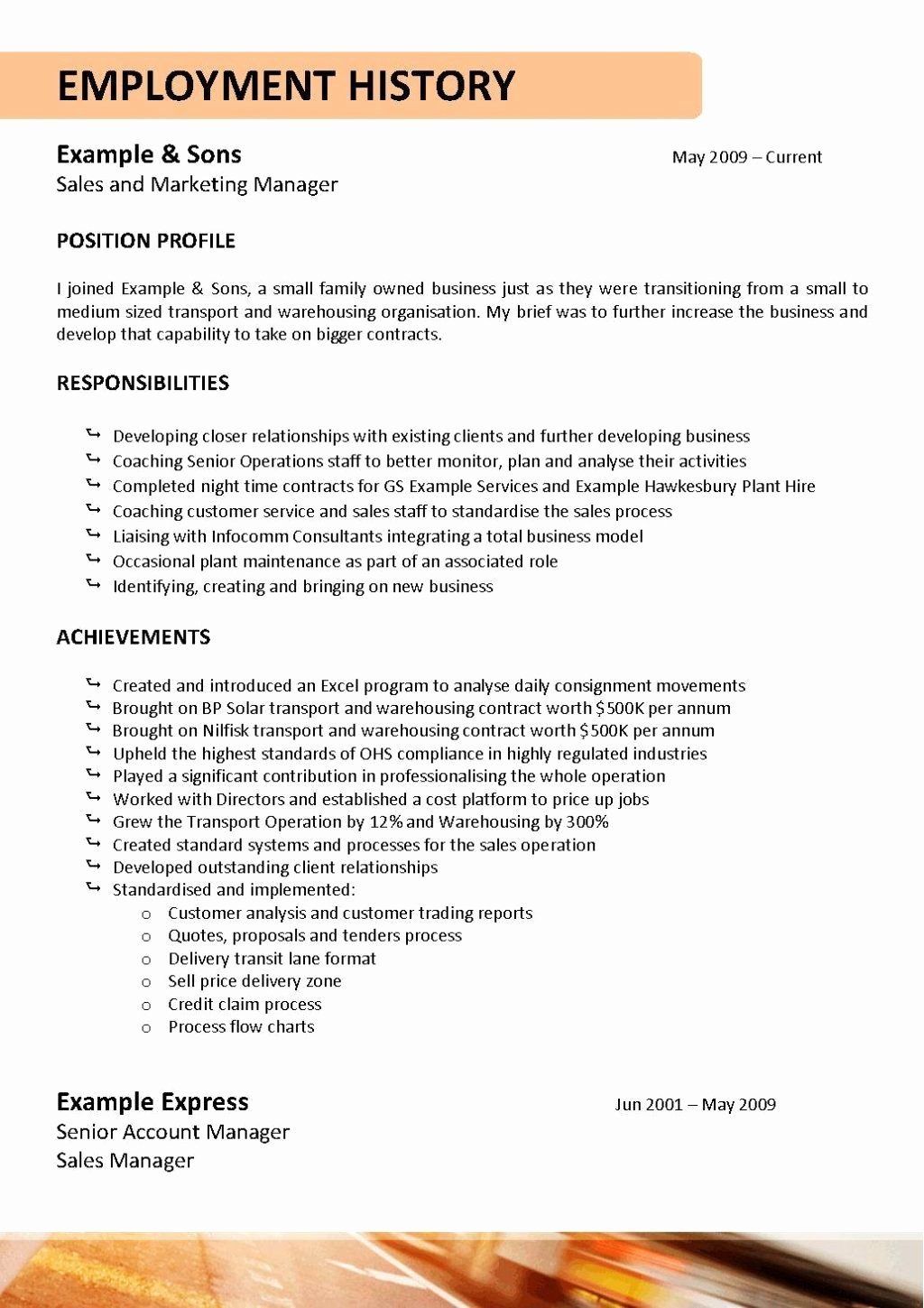 Truck Driver Resume Template Awesome Resume Template Truck Driver Resume Template Initials