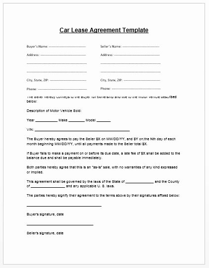 Truck Lease Agreement Template New Loan Agreement Template