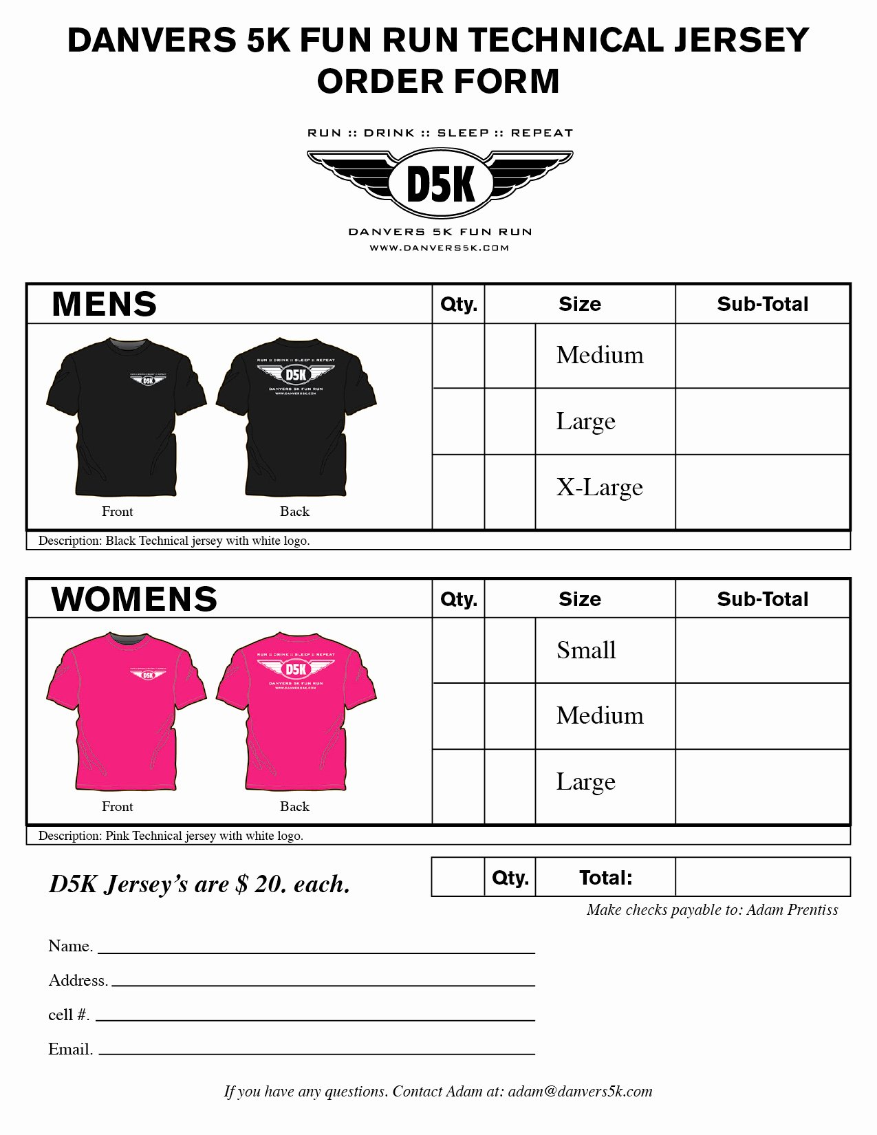 Tshirt order form Template Beautiful T Shirt order form Template