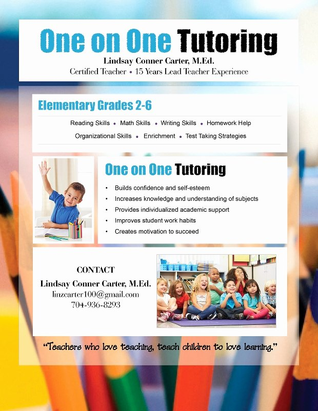 Tutor Flyer Template Free Beautiful 15 Tutoring Flyer Templates Printable Psd Ai Vector