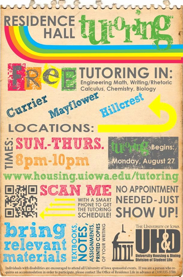 Tutoring Flyer Template Free Lovely 15 Cool Tutoring Flyers 8 Tutoring
