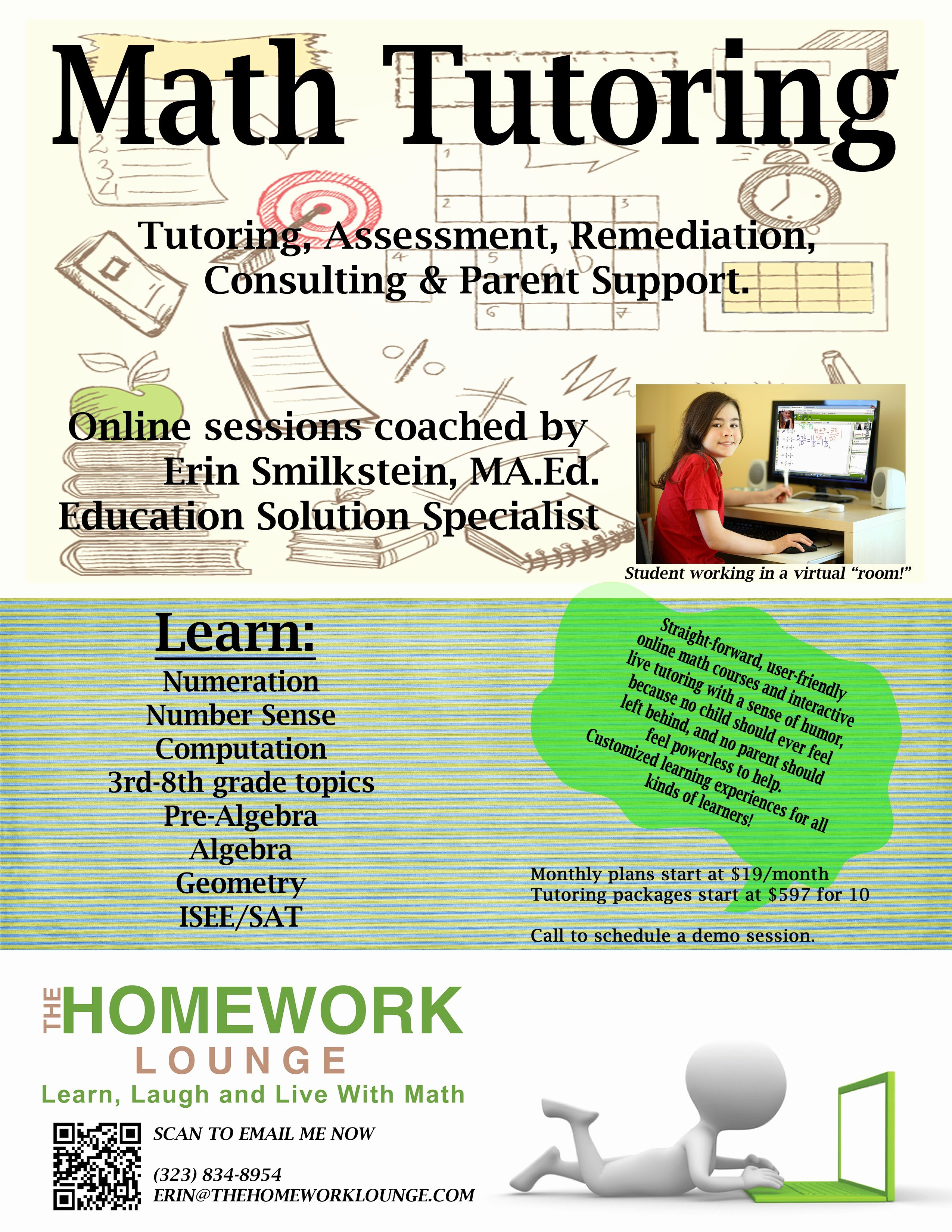 Tutoring Flyer Template Free Lovely Math Tutor Flyer Templa Cool School Flyers Fly