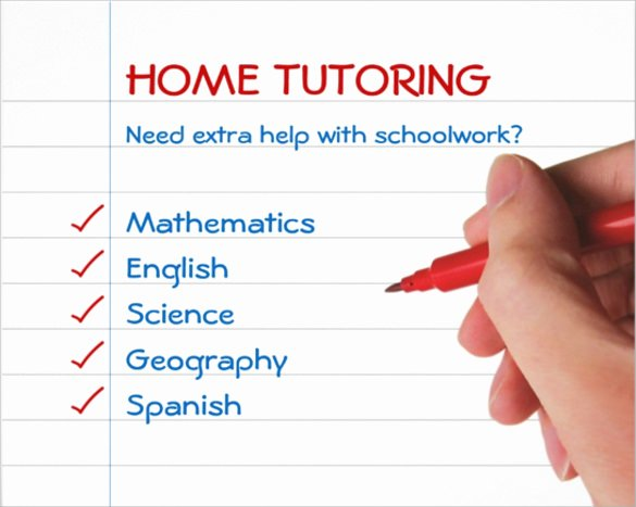 Tutoring Flyer Template Free New 17 Best Tutoring Flyer Templates