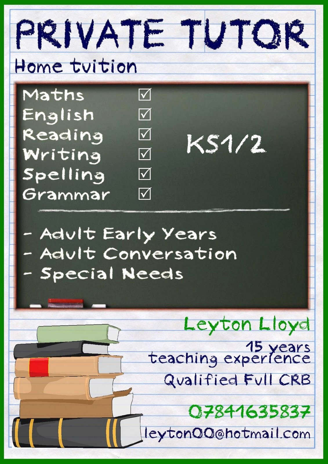 Tutoring Flyers Template Free Unique Image Result for Tutor Leaflet Tutor