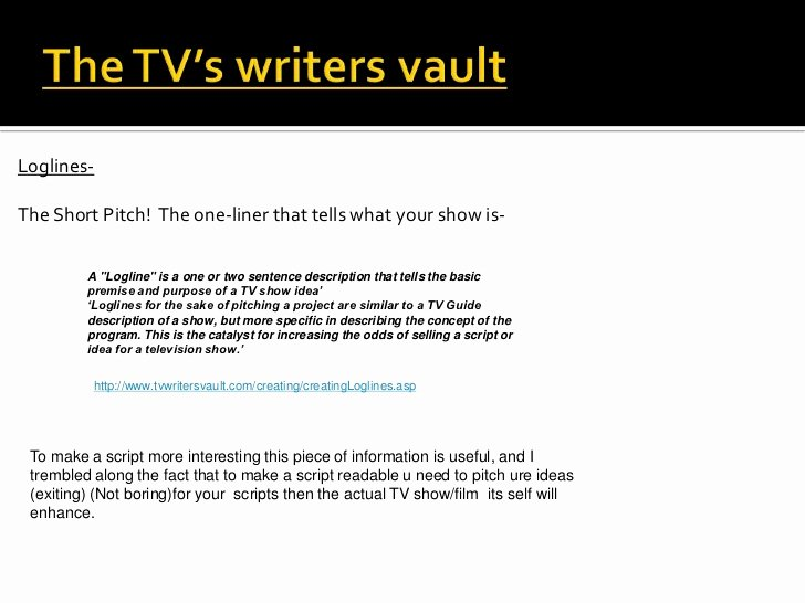 Tv Show Concept Template Elegant Script Development & the Missioning Process by Nick Mccabe