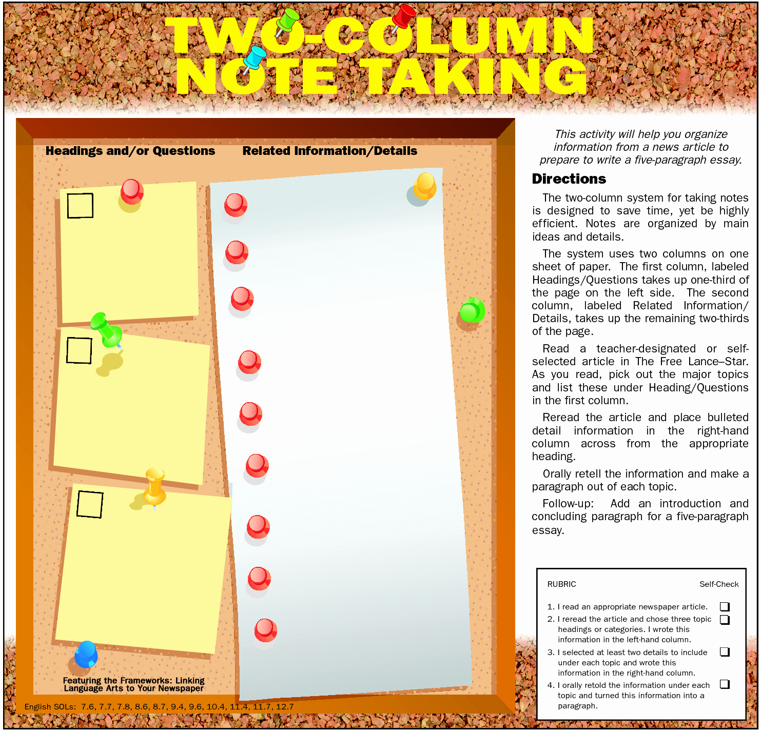 Two Column Notes Template New 10 Best Of Two Column Notes form Cornell Note