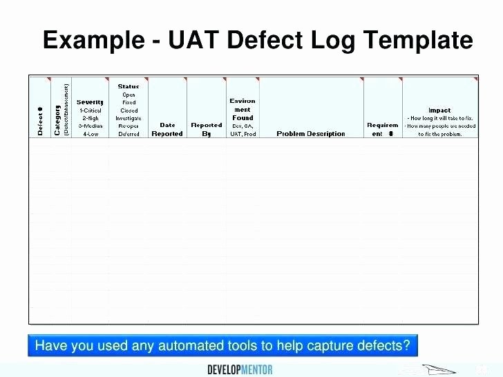 Uat Testing Plan Template Best Of Uat form Template