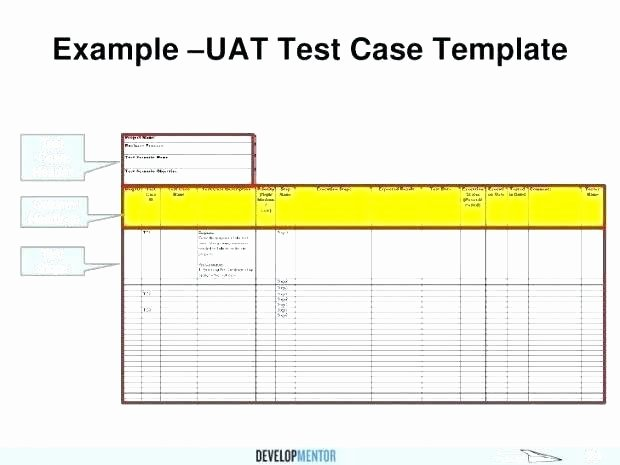 Uat Testing Plan Template Elegant Sample Uat Test Plan Template Approach Document Template