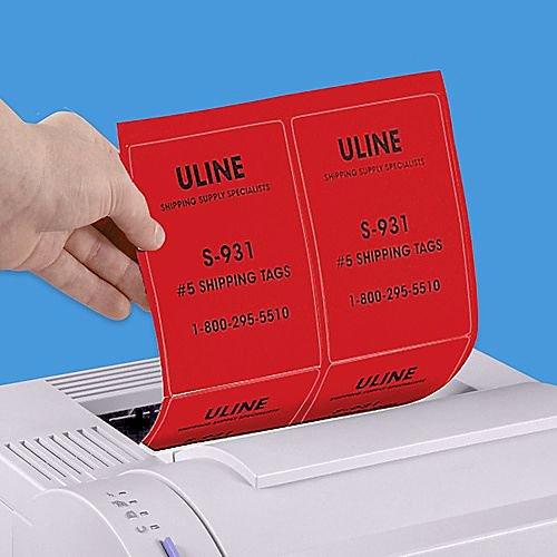 Uline Laser Labels Template Elegant Laser Labels Printer Labels Printable Labels In Stock