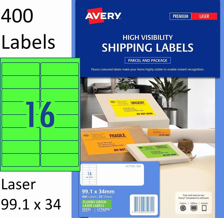 Uline Laser Labels Template Inspirational Label Template 16 Per Sheet