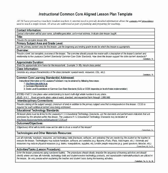 Unit Lesson Plan Template Fresh College Lesson Plan Template Word – Ddmoon