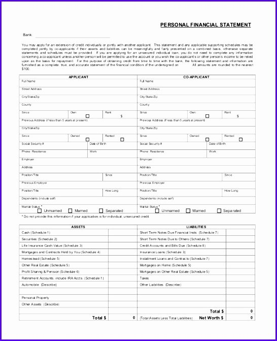 Us Bank Statement Template Unique 6 Bank Statement Excel Template Exceltemplates