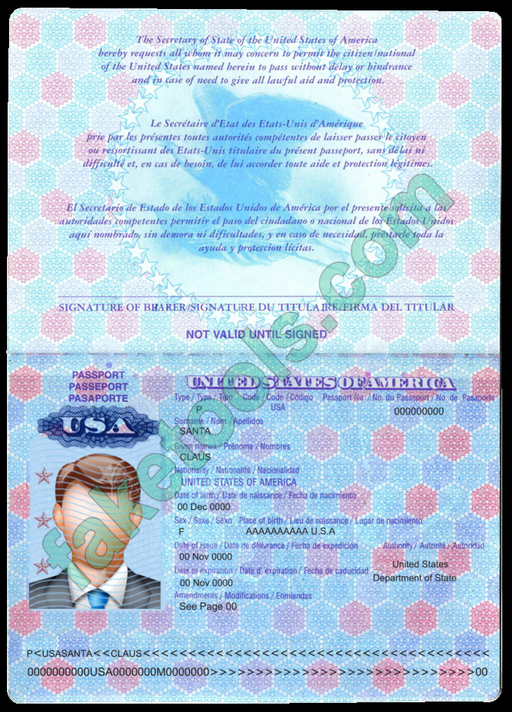 Us Passport Template Psd Best Of Usa Passport Psd Template V2 Fake Id Template