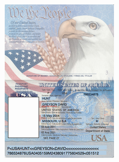 Us Passport Template Psd Elegant Domesticated Nomad Spy Party Passports
