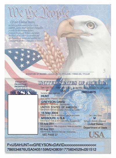 Us Passport Template Psd Elegant Domesticated Nomad Spy Party Passports