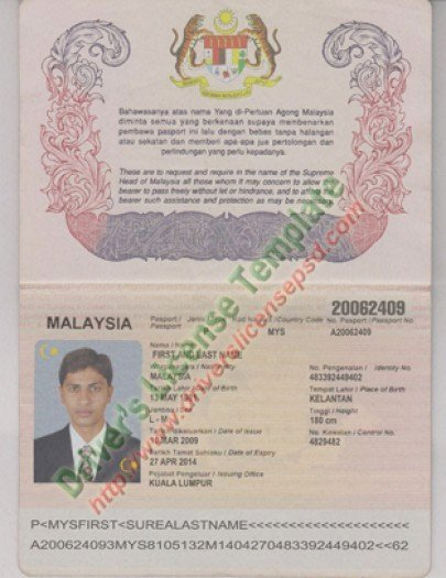 Us Passport Template Psd Luxury Drivers License Fake Drivers License Drivers License