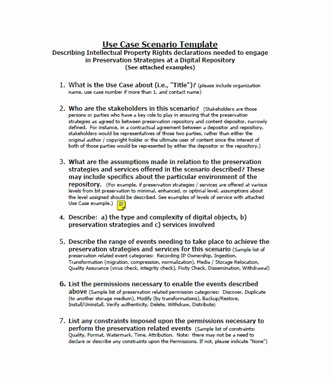 Use Case Template Examples Inspirational 40 Use Case Templates & Examples Word Pdf Template Lab