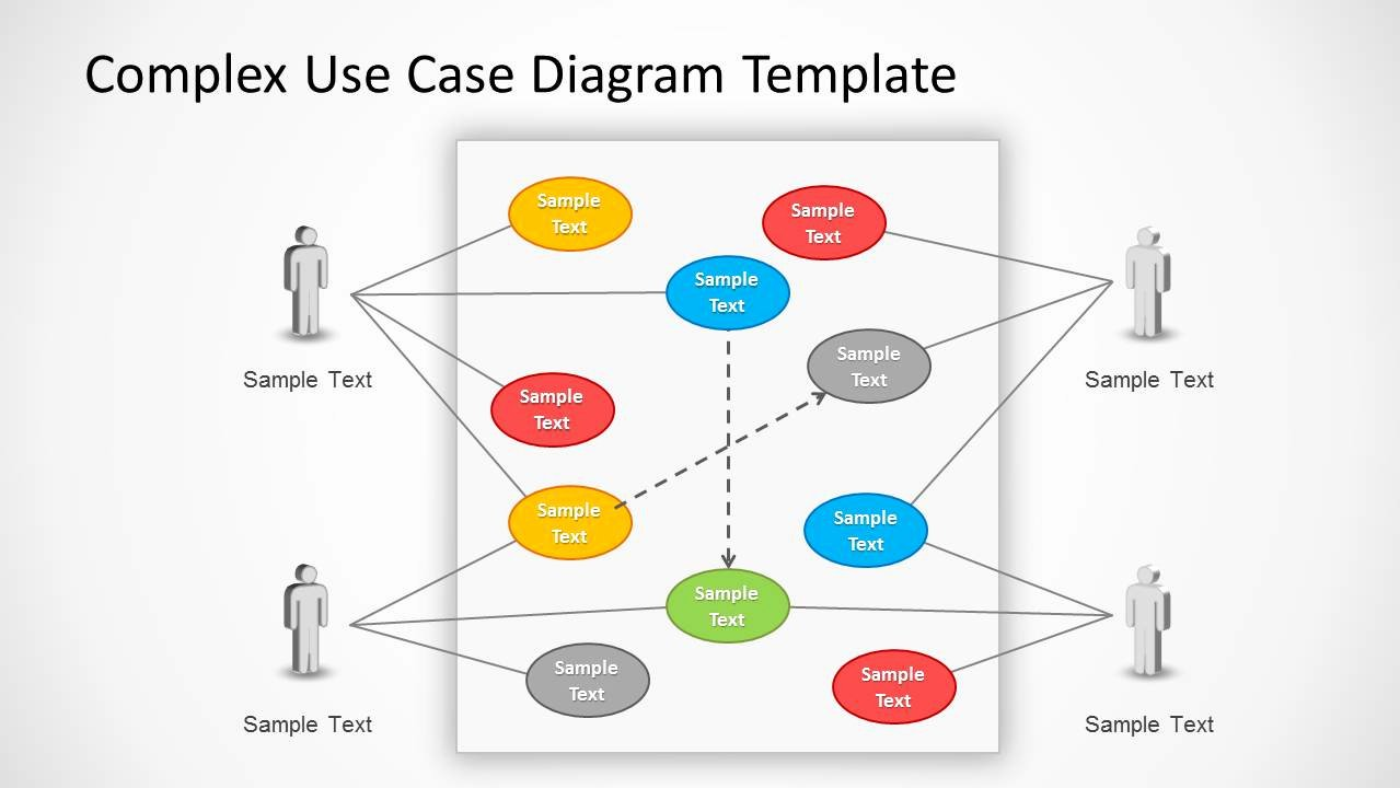 Use Case Template Examples New Use Case Powerpoint Diagram Slidemodel