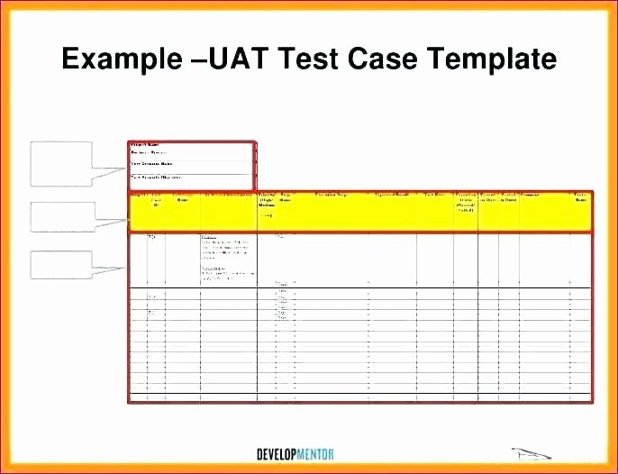 Use Case Template Excel Unique 88 software Test Template Excel software Test Plans