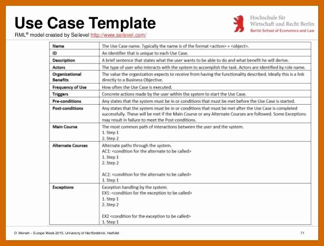Use Case Template Word Awesome 5 6 Use Case Templates Word