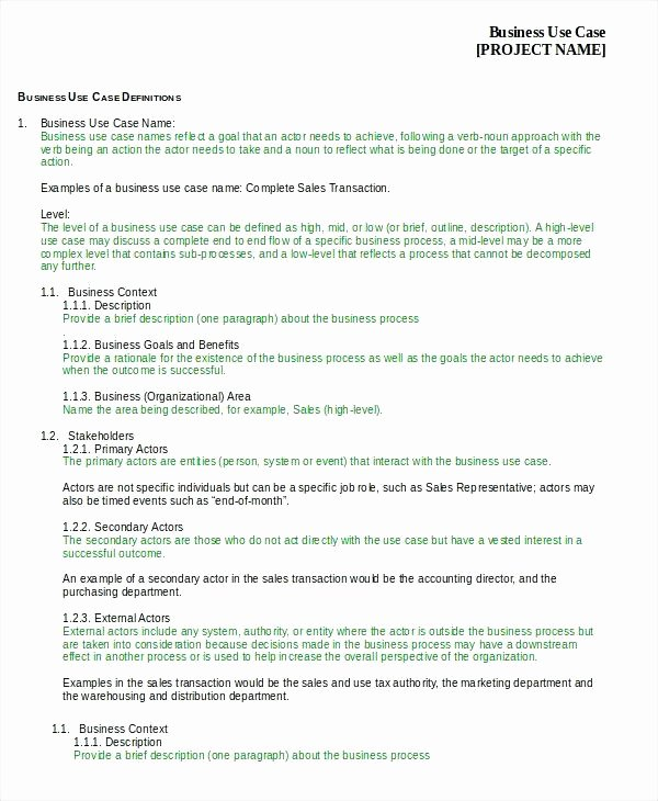Use Cases Document Template Awesome Use Case Document Template System for Banking – Newbloc