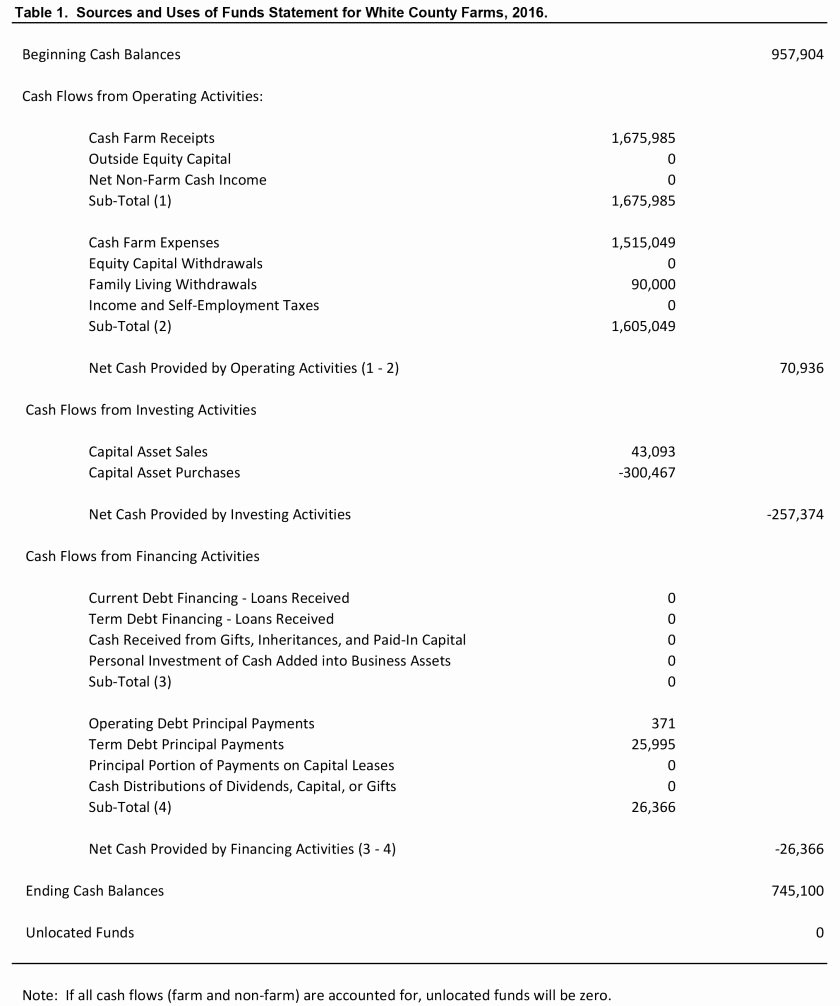 Use Of Funds Template Beautiful How to Analyze Transactions and Prepare In E Statement