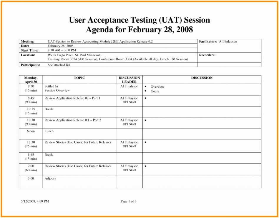 User Acceptance Test Template Lovely User Acceptance Test Plan Sheet Template Picture Excel