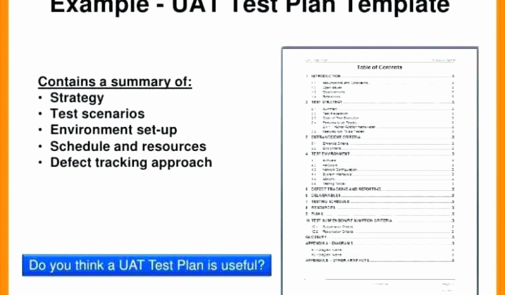 User Acceptance Testing Template Inspirational Acceptance Test Plan Template User Testing for