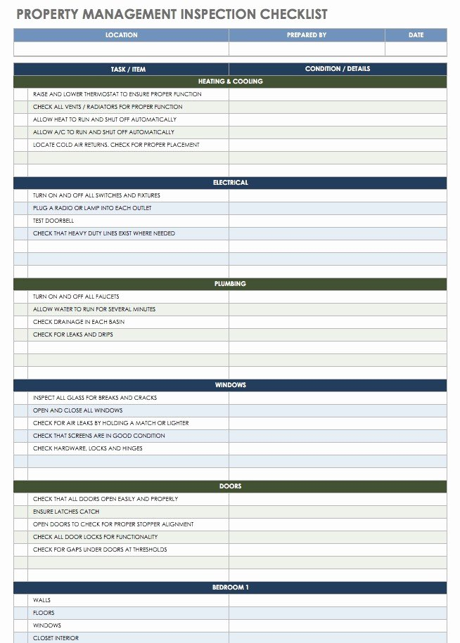 Vacation Rental Checklist Template Beautiful Rental Management Template