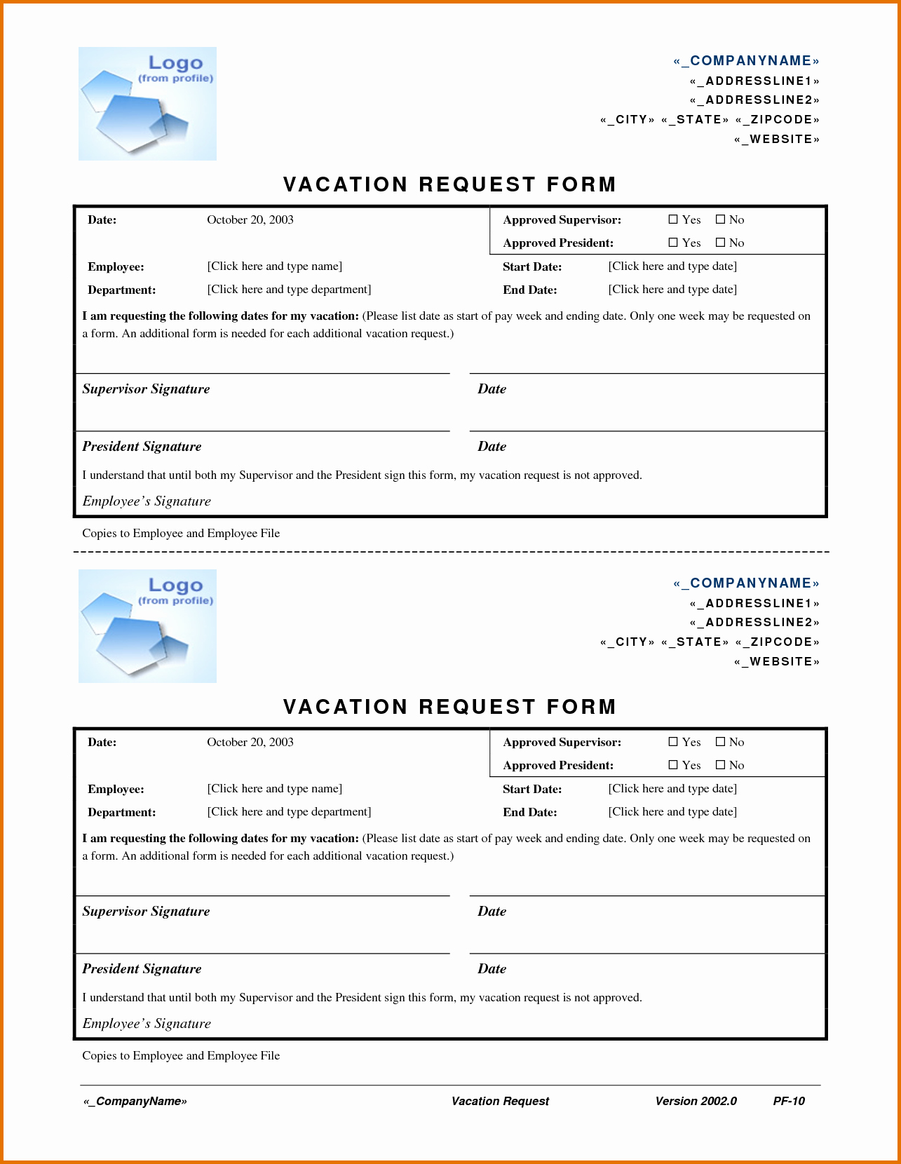 Vacation Request form Template Fresh Sample Letter Request Approval for Shop Closing Write