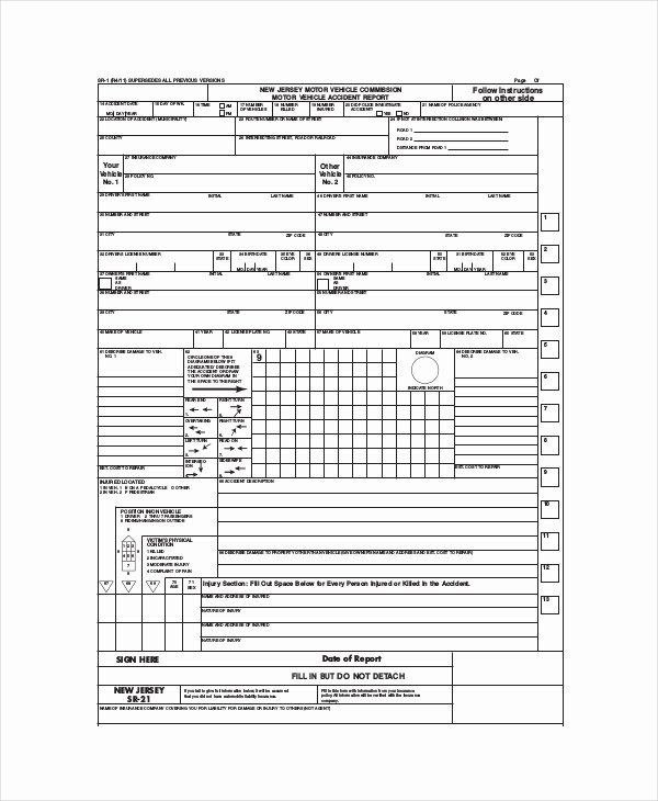 Vehicle Inspection Report Template Inspirational 13 Free Vehicle Report Templates Pdf Docs Word