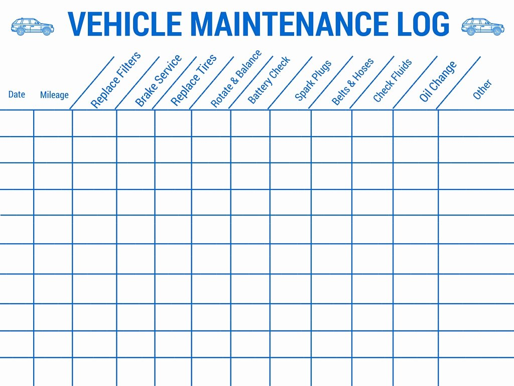 Vehicle Maintenance Log Template Inspirational Preparing Your Vehicle for A Family Road Trip Auto