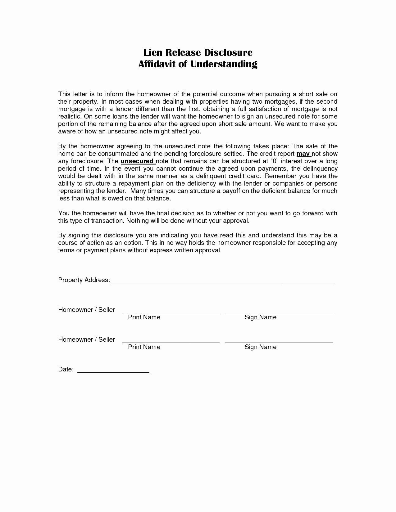 Vehicle Release form Template Inspirational Lien Demand Letter Template Sample
