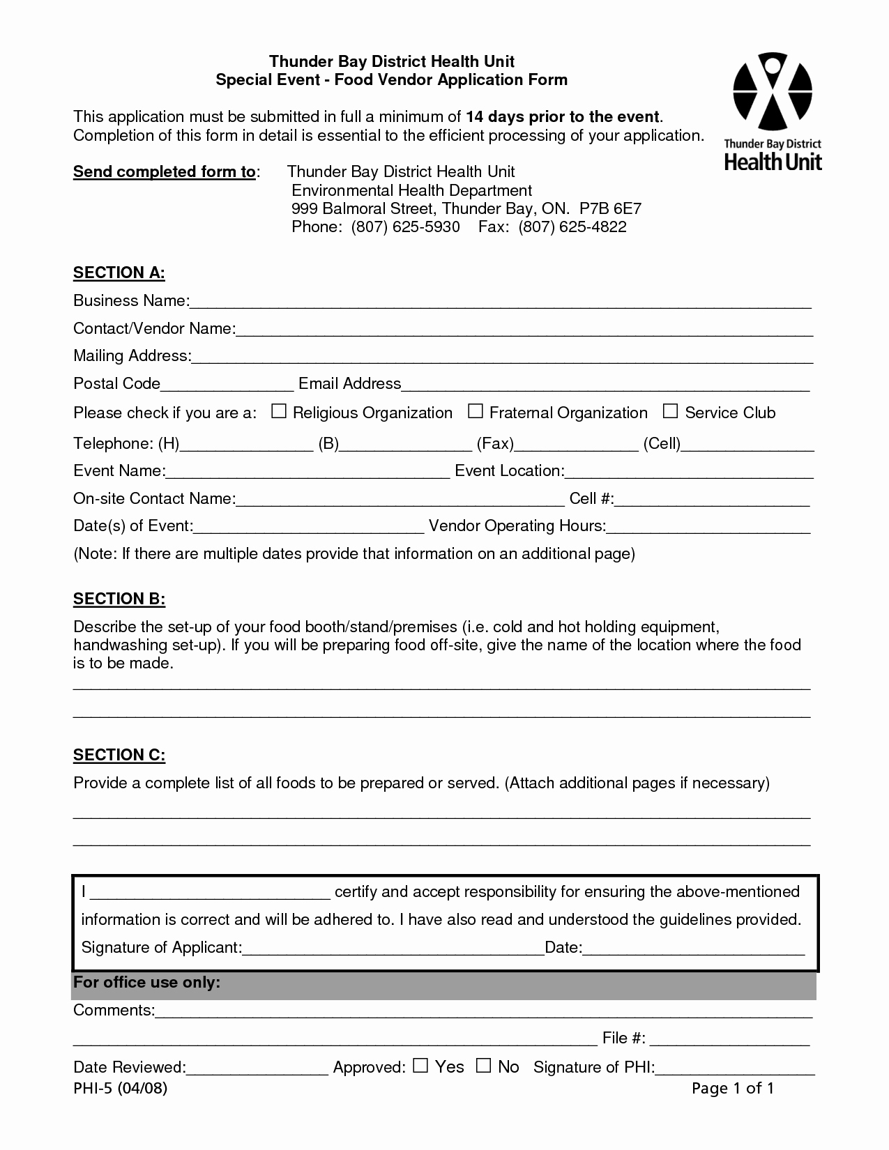 Vendor Application form Template Awesome Best S Of Sample Vendor form Vendor Information
