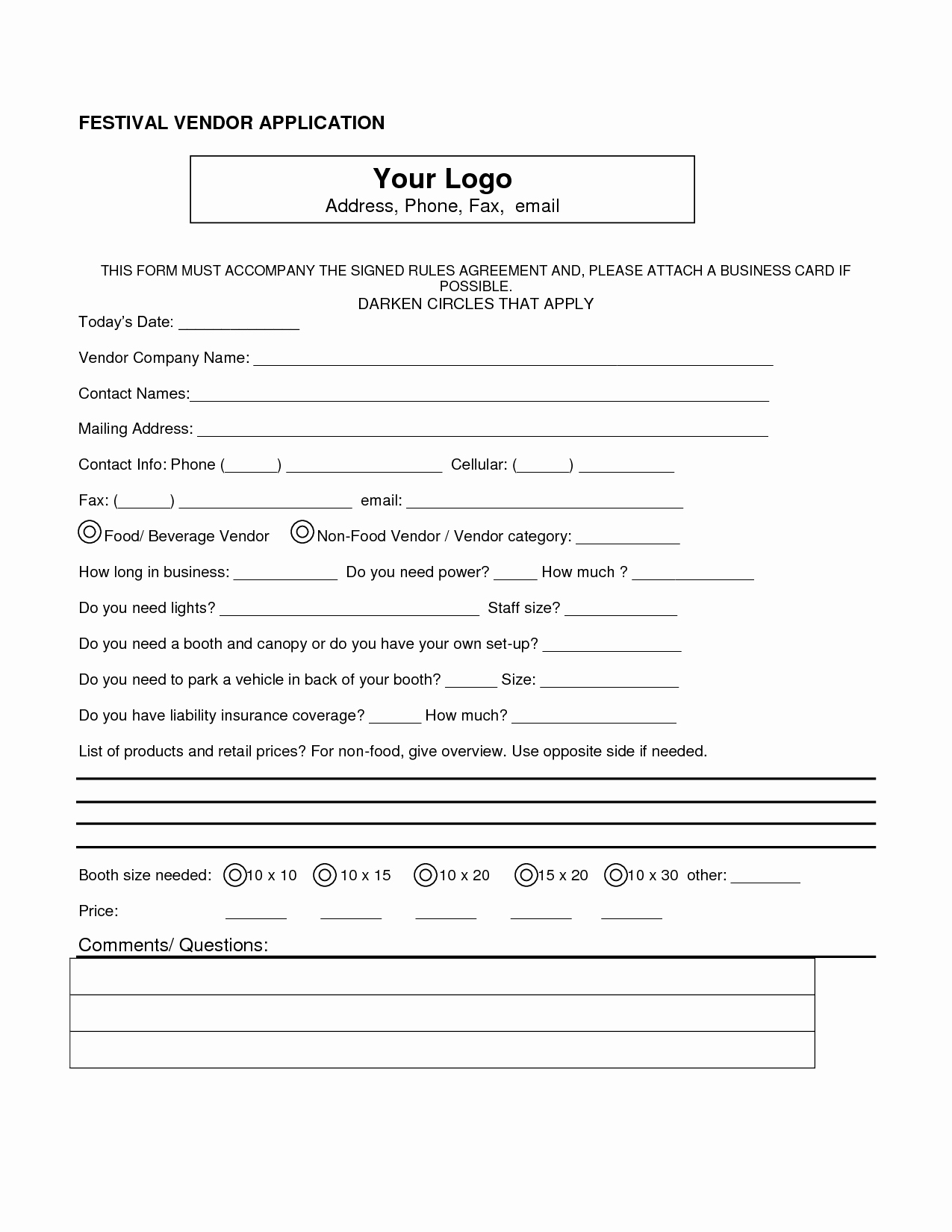 Vendor Information form Template Inspirational Best S Of Vendor Contact form Vendor Contact