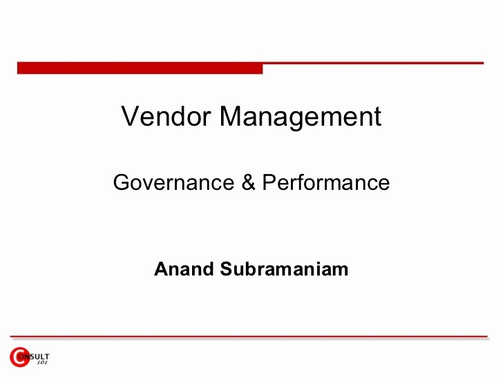 Vendor Management Excel Template Best Of Vendor Management