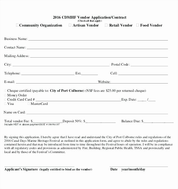 Vendor Registration form Template Inspirational Participant Registration form Template Vendor Application