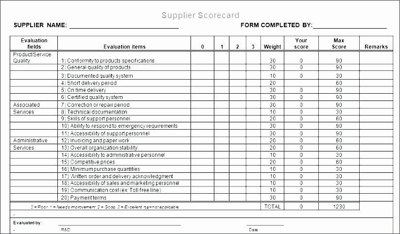 Vendor Risk assessment Template New Vendor Evaluation form Creative Agency Supplier Free