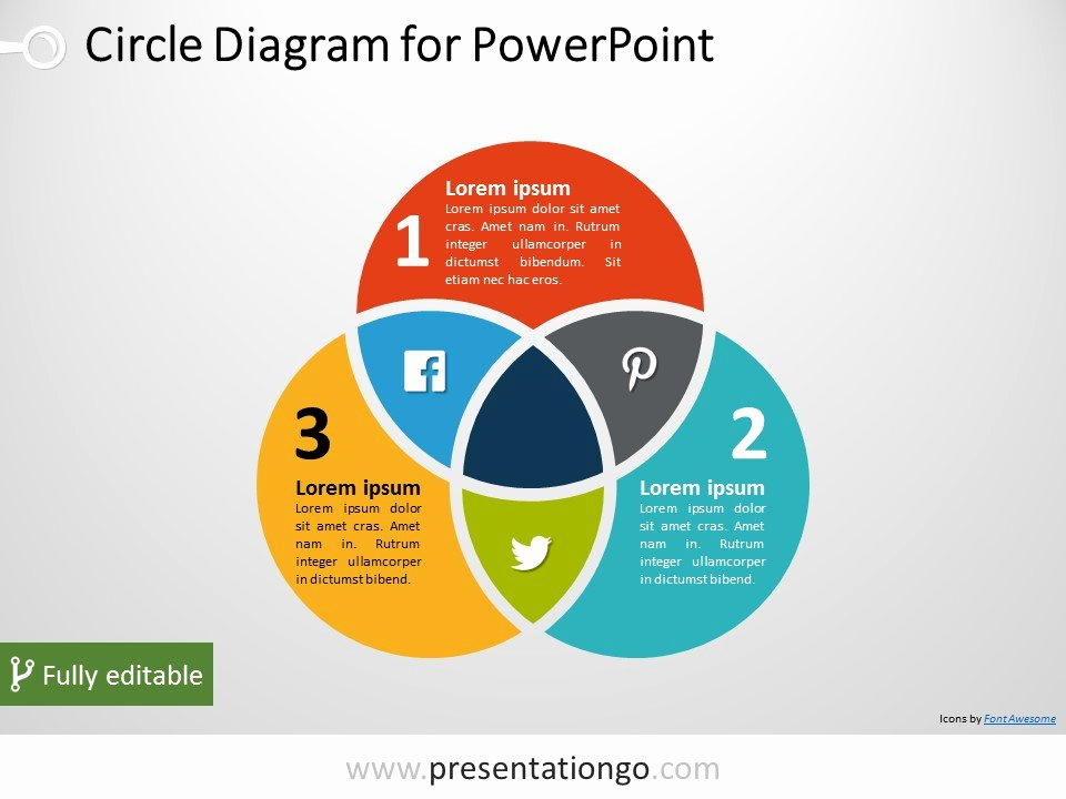Venn Diagram Powerpoint Template Fresh Free Venn Diagrams Powerpoint Templates Presentationgo