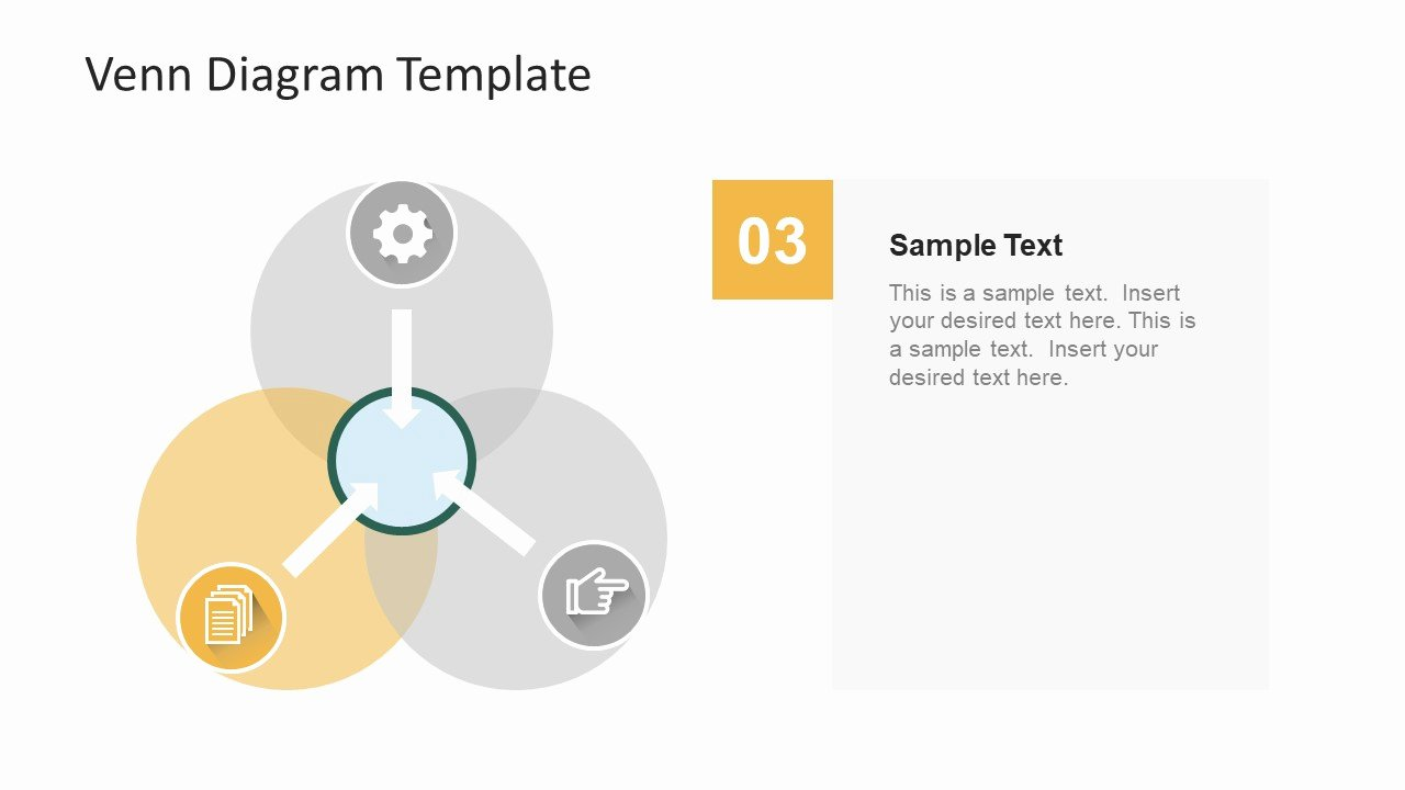 Venn Diagram Powerpoint Template Inspirational Simple Flat Venn Diagram Powerpoint Template Slidemodel