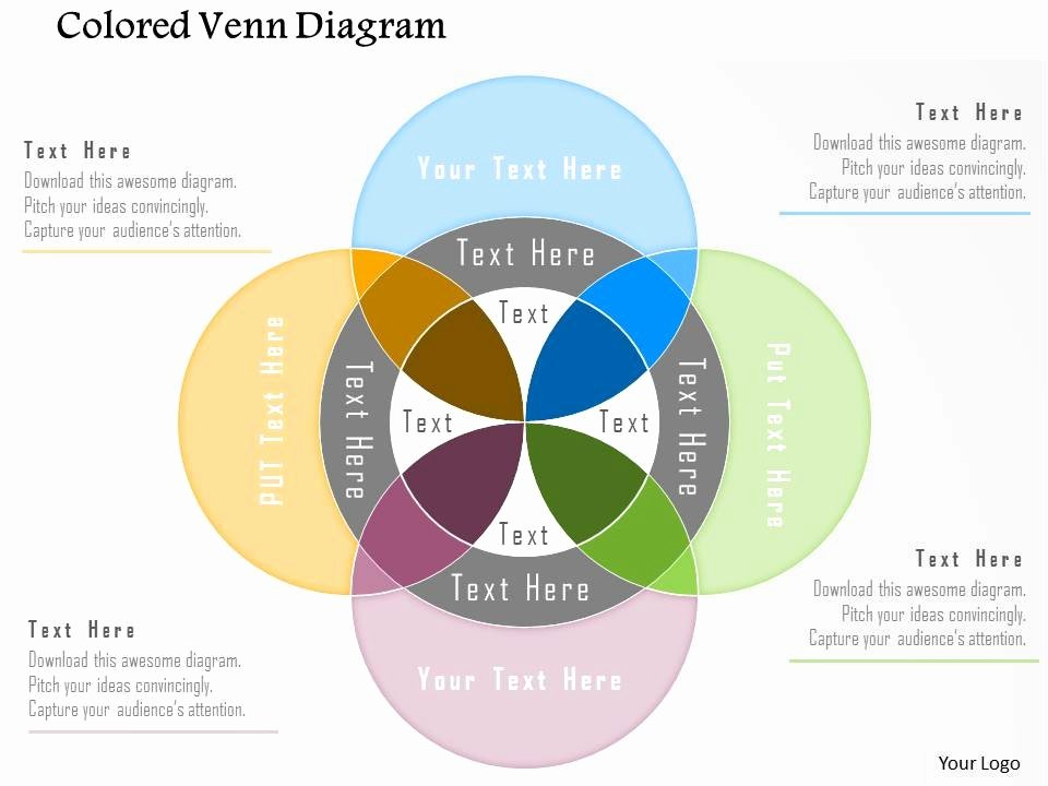 Venn Diagram Powerpoint Template Luxury Bm Colored Venn Diagram Powerpoint Template