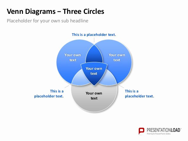 Venn Diagram Powerpoint Template Unique Powerpoint Venn Diagram Template