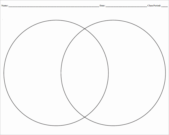 Venn Diagram Template Word Best Of 9 Blank Venn Diagram Templates Pdf Doc